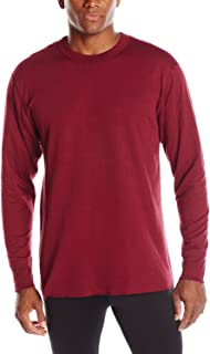 Duofold Thermals Men's Long-Sleeve Base-Layer Shirt_Bordeaux Red_2XL