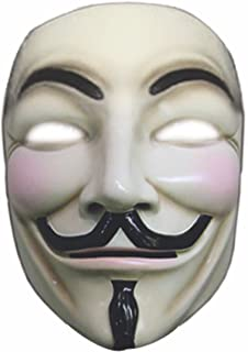 V for Vendetta Mask, Multicoloured, One Size