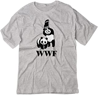 BSW Youth WWF WWE Panda Wrestling Chair Parody Shirt