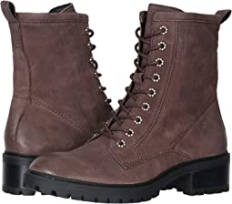 Aubergine Vintage Nubuck Leather