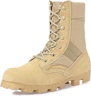 KaiFeng Men's Military Tactical Boots Lightweight Jungle Boots