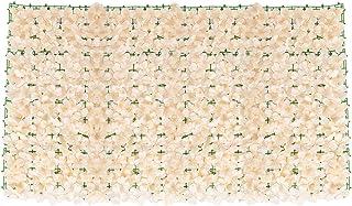 HANDAN Artificiell screening murgröna blad häck blomma staket paneler på rulle integritet skyddande skärmar trädgård stake...