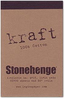 Legion Stonehenge Mini Artist Pad, 2.5 by 3.5 Inches, Kraft Paper, 15 Sheets (L21-STP250KR23)