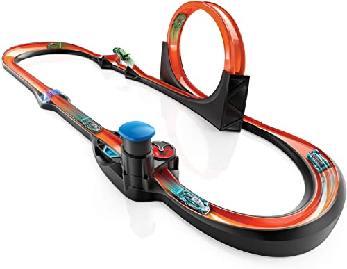 wholesale Hot outlet online sale Wheels id Smart Track Measures Speed Counts Laps Uniquely Identifiable Vehicles 2021 Ages 8 and Older online