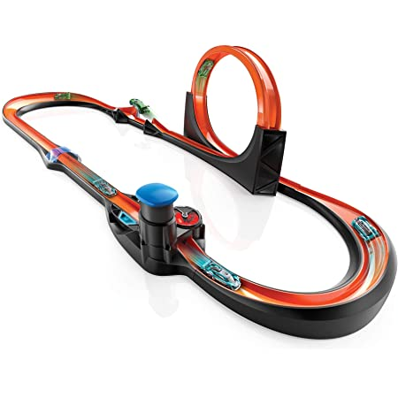 Hot Wheels id Smart Track Measures Speed Counts Laps Uniquely Identifiable Vehicles Ages 8 and Older