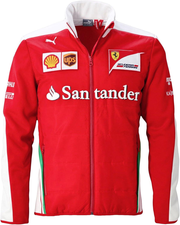Puma Herren Sf Scuderia Ferrari Formel 1 Team Softshelljacke Sport Freizeit