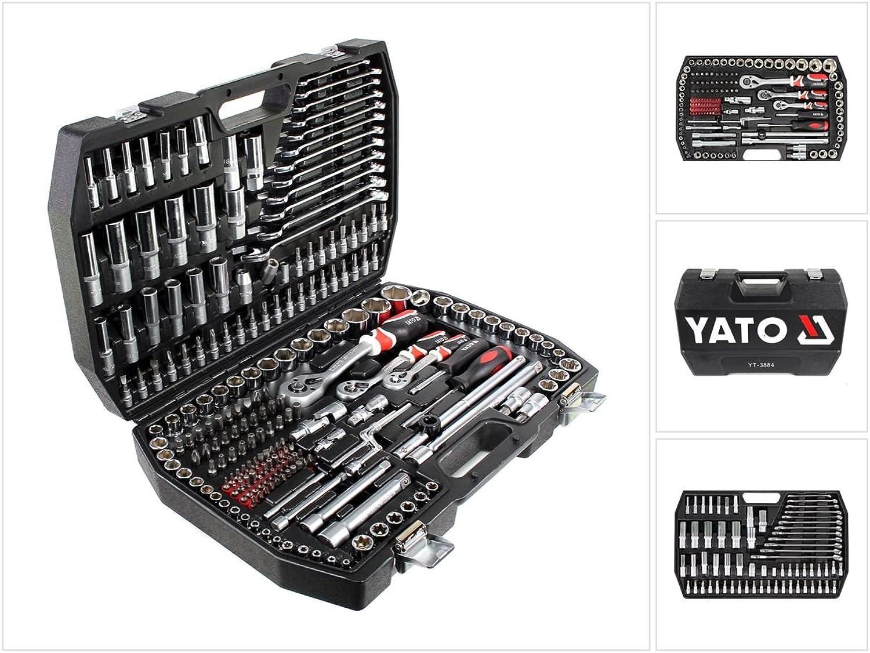 'YT Yato 3884-socket-set 1 4  , , , 3 8  und 1 2  216pcs B0064Z25HG | Spezielle Funktion  df839d