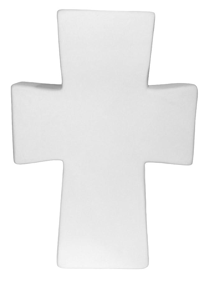 Large Freestanding Cross - Paint Your Own Ceramic Keepsake