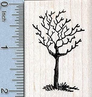 Bare Tree Rubber Stamp, Winter Scenery Series