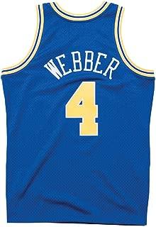 Mitchell & Ness Chris Webber 1993-94 Golden State Warriors Blue Swingman Jersey