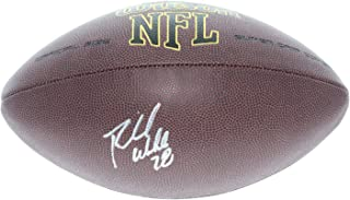 Richmond Webb Miami Dolphins Autographed Signed Wilson NFL Super Grip Football - Certified Authentic