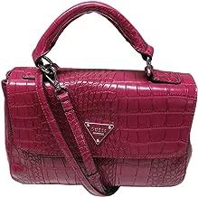 Guess Women's Purse Handbag Bay View Satchel Peony Pink