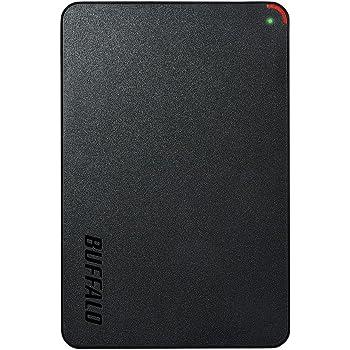 BUFFALO ミニステーション USB3.1(Gen1)/USB3.0用ポータブルHDD 2TB HD-PCFS2.0U3-BBA