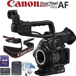 Canon EOS C100 Mark II Cinema EOS Camera with Dual Pixel CMOS AF (Body Only) (International Model)