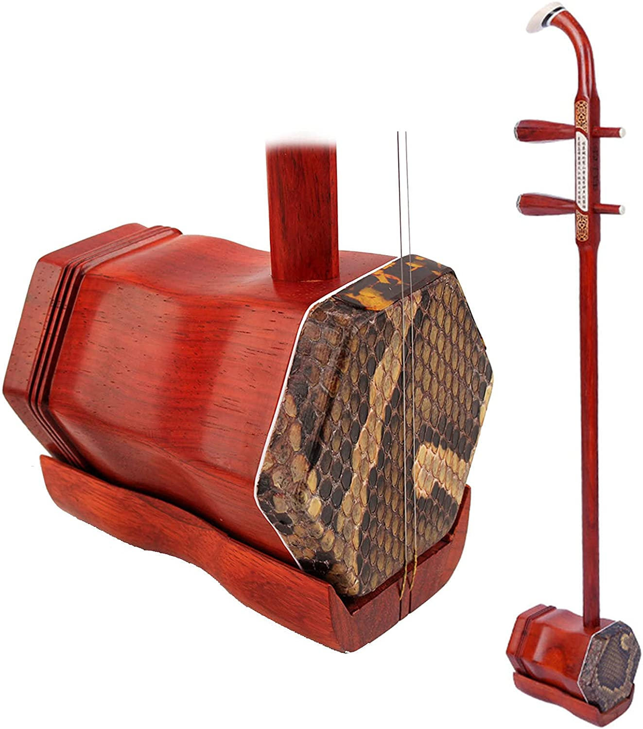 ZWJABYY Erhu Bow Max 71% OFF Gig-Bag Engraved Rosewood Milwaukee Mall and Accessories