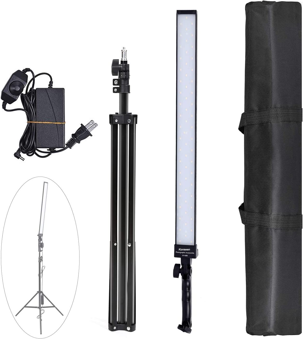 Now free shipping 36w Dimmable LED Video Handheld Photography Very popular Studio Contin Lights