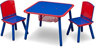 Delta Children Wooden Children s Table and Chair Set  Blue and Red