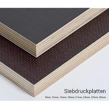 Siebdruckplatte 24mm Zuschnitt Multiplex Birke Holz Bodenplatte 20x70 cm