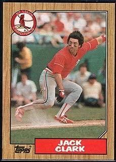 1987 Topps Baseball #520 Jack Clark St. Louis Cardinals Official MLB Trading Card