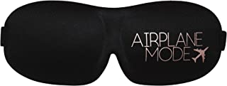 Miamica Structured Eye Mask, Airplane Mode