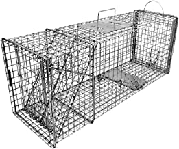 Tomahawk Original Series Rigid Trap with Easy Release Door for Raccoons/Feral Cats/Badgers