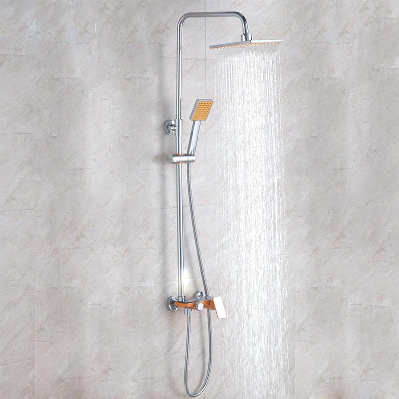 THISME Aufzug Dusche Dusche Anzug,Orange
