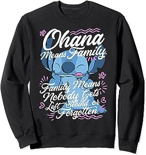 Disney Lilo & Stitch 626 Stitch Day Ohana Means Family Sweatshirt