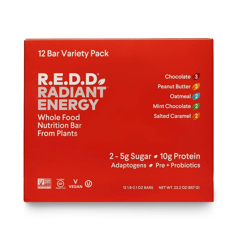 R.E.D.D. Bar 2021 model Vegan Protein Great interest Gluten-Free Sugar Low