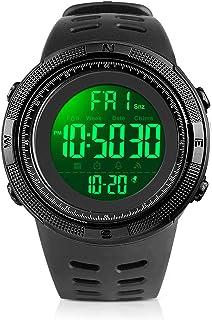 Men's Digital Watch, Led Military 50M Waterproof Sports...