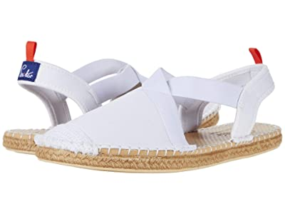 Sea Star Beachwear Seafarer Slingback Water Shoe (White Denim) Women