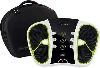 Voetmassage apparaat - 99 standen en 2 jaar garantie - Massage apparaat tegen vermoeide en zware benen - Inclusief extra e...