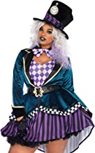 Leg Avenue Women's Delightful Mad Hatter Halloween Costume