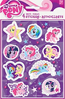 My Little Pony Sticker Sheets, 4ct