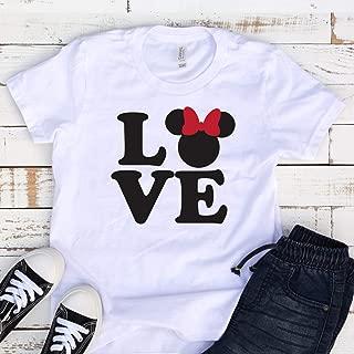 Kids Disney shirts, Disney Love, Disney trip, Minnie version, Family trip, matching shirts, Mickey hands