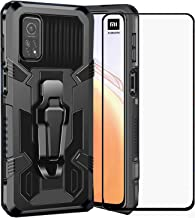 BTShare for Xiaomi Mi 10T / Mi 10T Pro 5G Case with Tempered Glass Screen Protector & Camera Lens Film, Heavy Rugged Anti-...