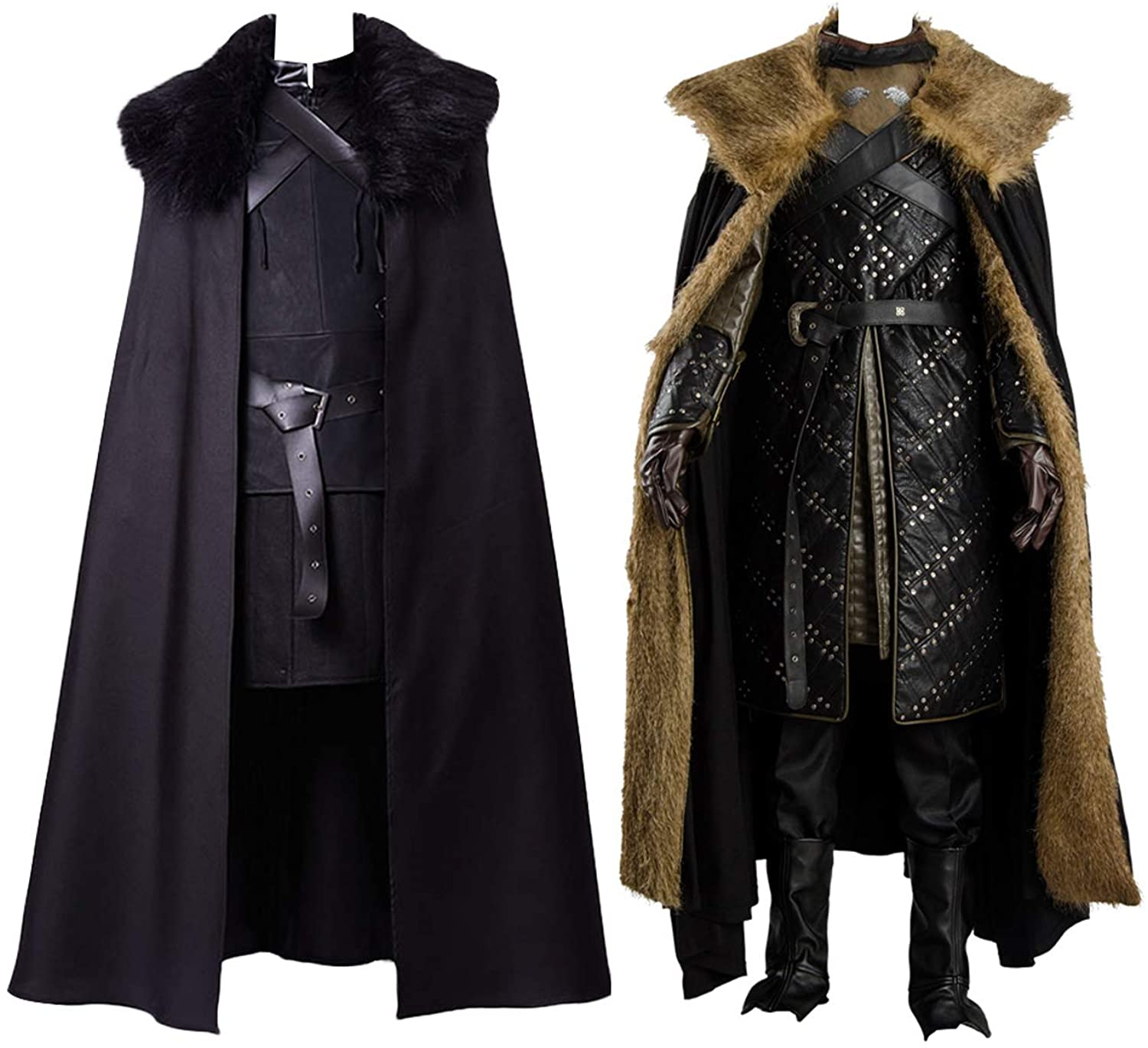 Jon Snow Cosplay Costume Gifts H Free shipping New Night's Watch Knights