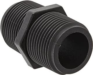 Banjo NIP075-SH Polypropylene Pipe Fitting, Short Nipple, Schedule 80, 3/4