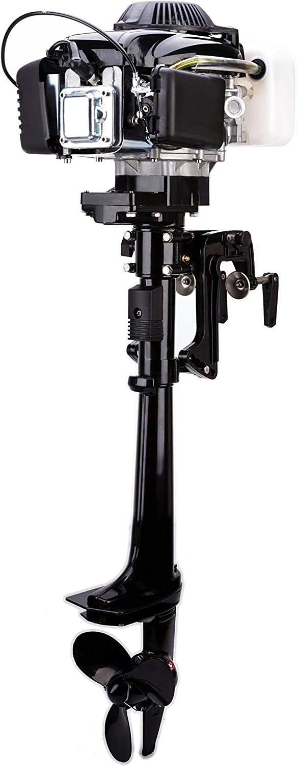 Leadallway 4stroke Aircooled 4HP Outboard Motors Inflatable Fishing Boat Engine ECM Listed