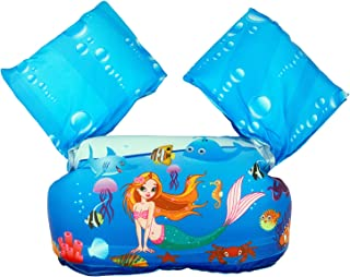 Kids Swim Life Jacket, Floaties for Toddler Girls and Boys from 30 to 66 Pounds, Children Swimming Pool Float Baby Puddle/...
