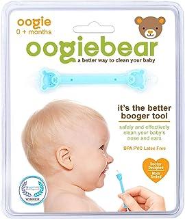 Sacamocos Oogiebear - Especial para bebes - Ideal para limpieza de mocos y cerumen de las orejas.