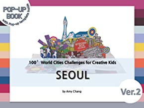 Seoul: DIY pop-up card making craft books for kids, Korean culture and travel, capital city (English Edition)