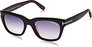Tom Ford SNOWDON FT0237 05B Black/Other Sunglasses Grey Gradient 52mm Lens