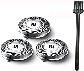 FEAYEA SH30/52 Shavers Replacement Heads for Philips Norelco Series 1000, 2000, 3000 Shavers and S738H 3-Pack