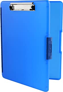 Dexas 3517-J2728 Slimcase 2 Storage Clipboard with Side Opening, Royal Blue
