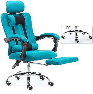 Silla Giratoria de Oficina Silla Silla de oficina Escritorio Sillas Ergonómicas de Rodillas silla ergonómica de oficina silla de respaldo alto de malla, computadora de oficina silla con acolchado repo
