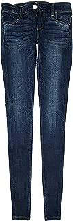 American Eagle Women's 04319893 Super Stretch X4 Hi-Rise Jegging Jeans Dark Blue Wash