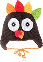 La Vogue Baby Thanksgiving Turkey Crochet Beanie Hat Cap Photograph Props