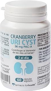 60 Cápsulas vegetales Cranberry Uri Cyst con concentrado