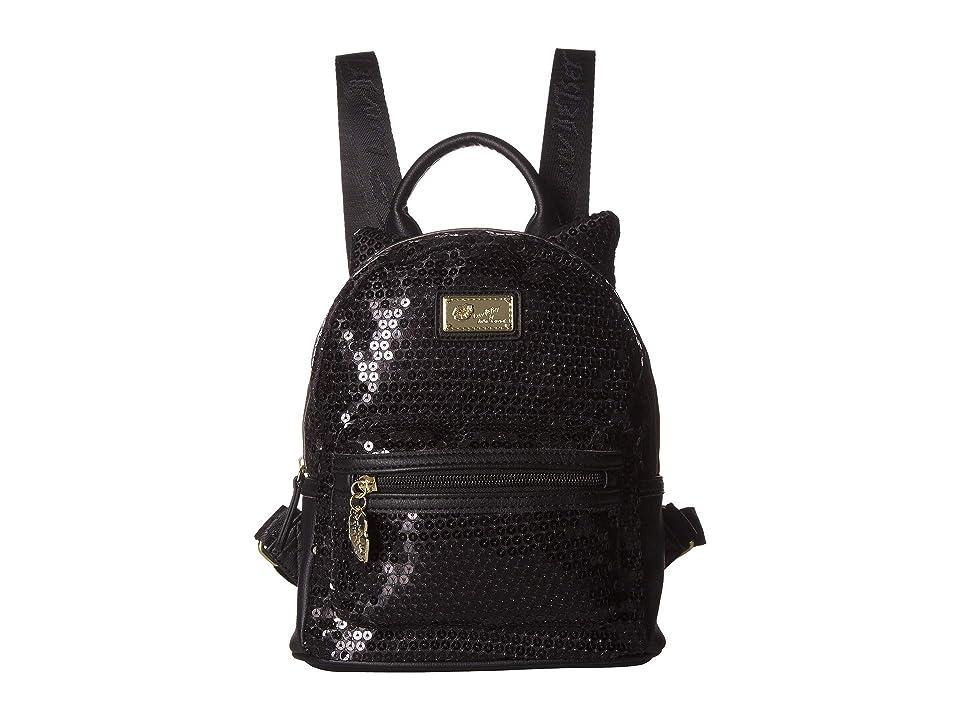 Luv Betsey Allie Backpack (Black) Backpack Bags