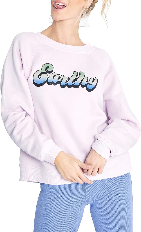 信憑 Wildfox Women's Sommers 迅速な対応で商品をお届け致します Pullover Sweatshirt